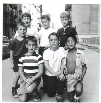 A young buncha hoodlums! 83rd street gang, New York, 1964
