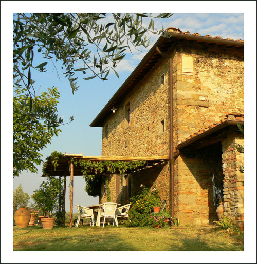ysvoice:  | ♕ |  Summer at a Tuscan villa  | by © jolivillage