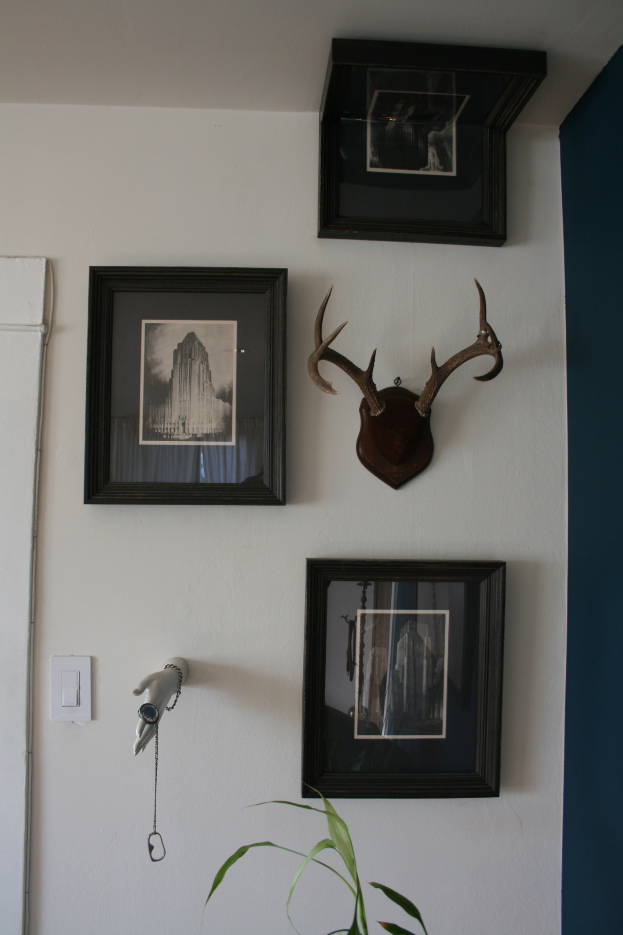 some framing we did around a corner…  yeah, we do that too…