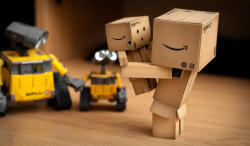 Danbo Meet New Friends