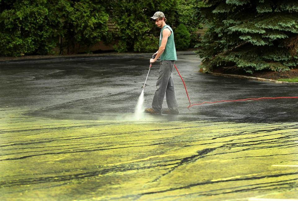 Pollen in Boston, suburbs wears on residents' health, patience  - The seasonal scourge covering cars and driveways is especially intense this year, a gunky byproduct of a warm winter and a largely dry, windy spring.