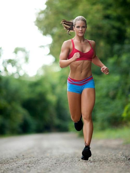 iamfitnyou:  Nicole Wilkins Running for Fitness