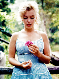 Marilyn Monroe photographed by Sam Shaw, 1956.