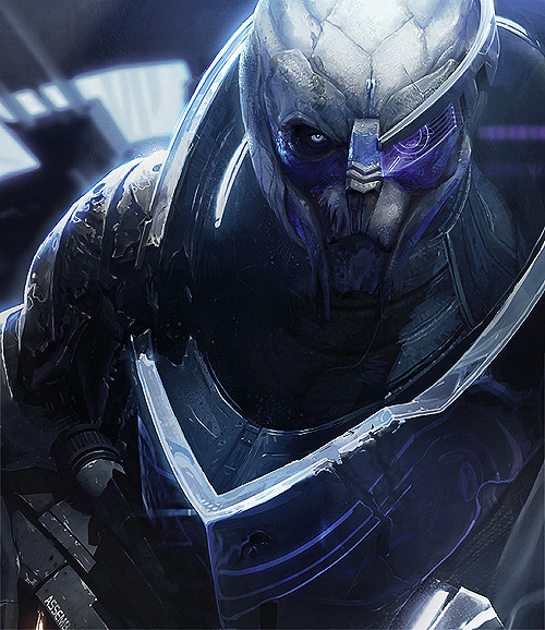 grim-dark:  Garrus Vakarian — Art of the Mass Effect Universe.