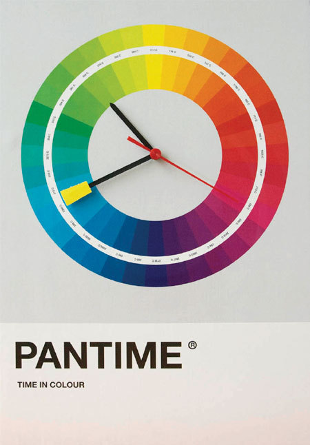 Industrial Design for colorholics- Pantime -Kathy Via: tanianike