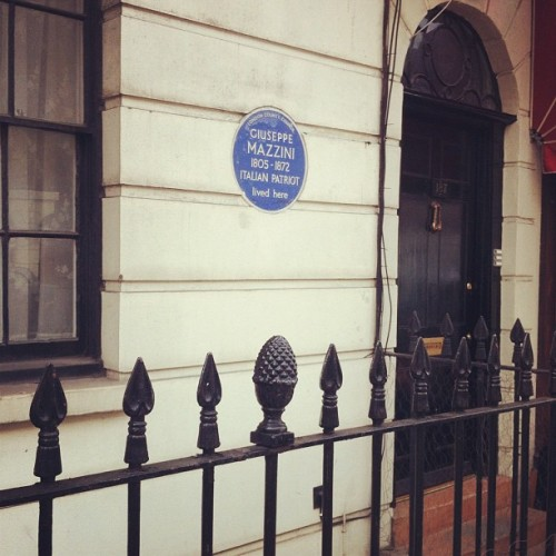 221b Baker Street. #sherlock #london (Taken with instagram)