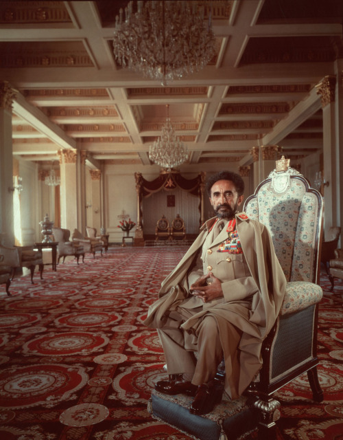 "Haile Selassie's full title in office was ""His Imperial Majesty Haile Selassie I, Conquering Lion of the Tribe of Judah, King of Kings (Emperor) of Ethiopia, Elect of God."" To Rastafaris: HIM (abbreviation of His Imperial Majesty), Jah or Jah Rastafari."