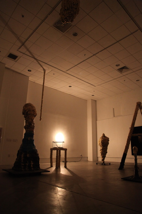 Scott Klinger, Finite (Polyphemus' Cave), Installation view, 2012