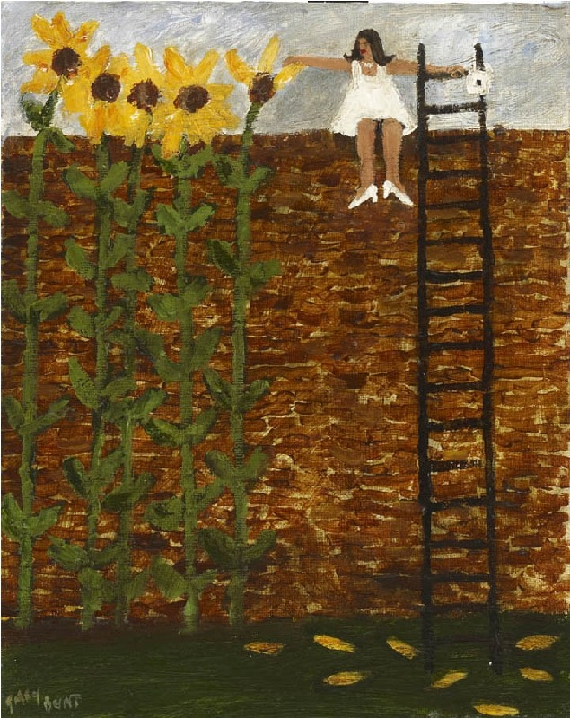 poboh:  He loves me not, he loves me, Gary Bunt. English born in 1957.