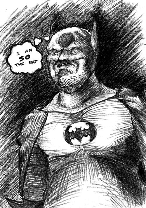 Haven't fatbatman'd in awhile…  …it's more fun than I remembered.