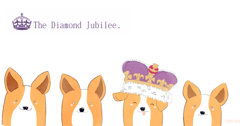 corgiaddict:  obviously, the diamond jubilee needs to be renamed the corgi jubilee. :)