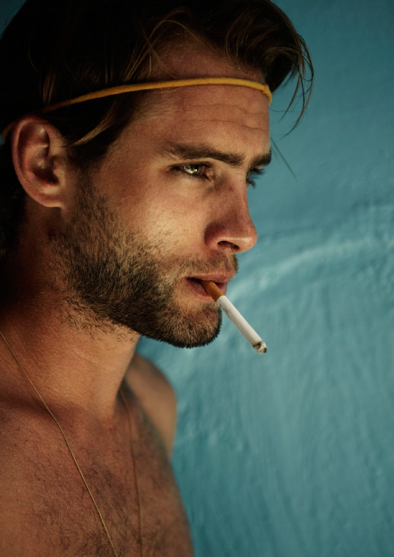 hot-men-smoking:  Matt Merrell