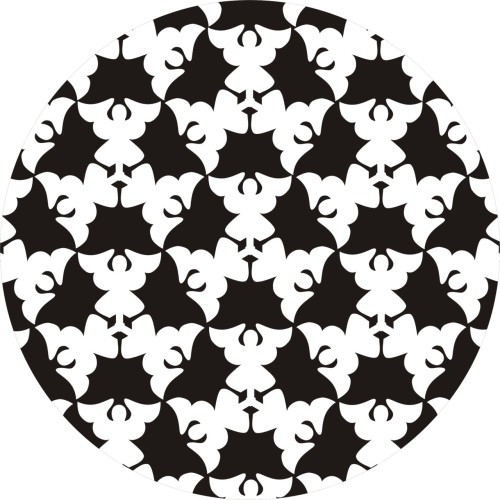M. C. Escher tessellation