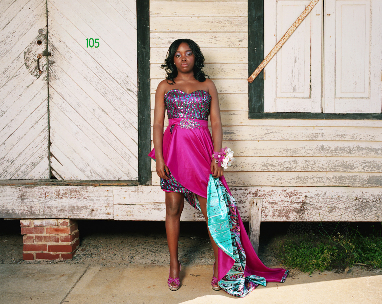 "Amber Jones, 18. Montgomery County High School, Mount Vernon, Ga.  ""There's not a lot to do in these parts, so prom is really the only time we get to dress up and hang out together,"" she says. Gillian Laub crossed the country to capture the bittersweet anticipation and excitement of high-school proms for TIME. See more here."