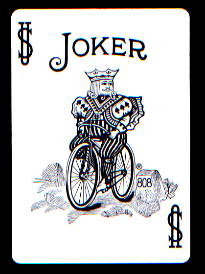 Why is it that the King on a bike is considered a joker?