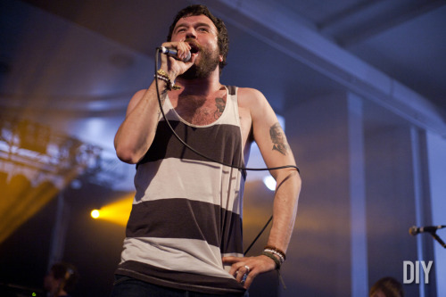Slam Dunk 2012: Say Anything, by Sinéad Grainger (via DIY)