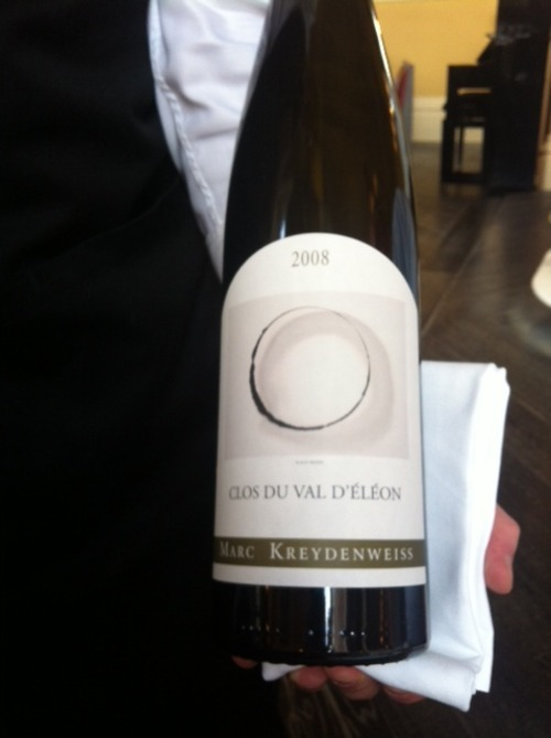 The Gilbert Scott A beautiful label (ooo circles!) & a delicious Riesling to boot!