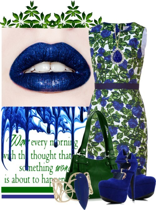 Bold Kisses by queenrachietemplateaddict featuring a cuff bangle