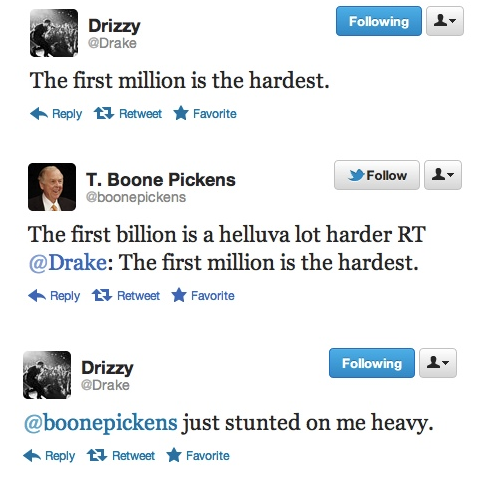 (via Who can humble Drake? T. Boon Pickens.)