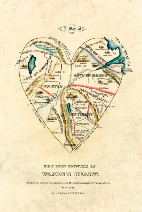 artofoverwhelm:  a woman's heart.