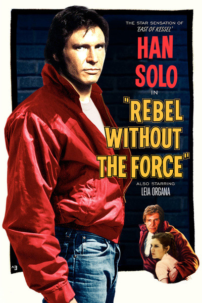 tiefighters:  Rebel Without the Force  Created by Rob Wood Prints available at Society6 RedBubble | Twitter | deviantART | Tumblr