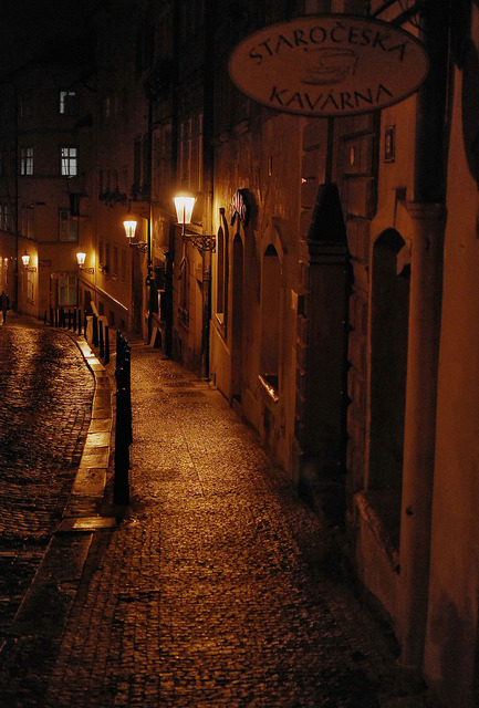Prague Street by DoctorNo_34 on Flickr.