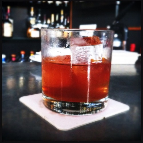 Mezcal Old Fashioned @ClydeCommon.