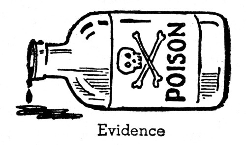 newhousebooks:  Evidence, from the Boy Scout Handbook 1942.