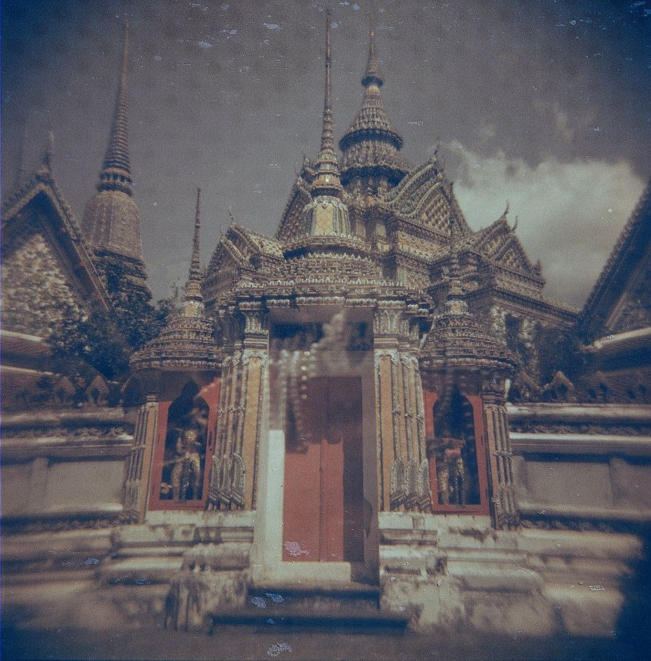 Double exposure. Bangkok, March 2012.
