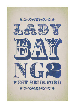 keefsblog:  Lady Bay typographic
