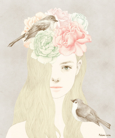 Birds and me by Madame Lolina on Flickr.
