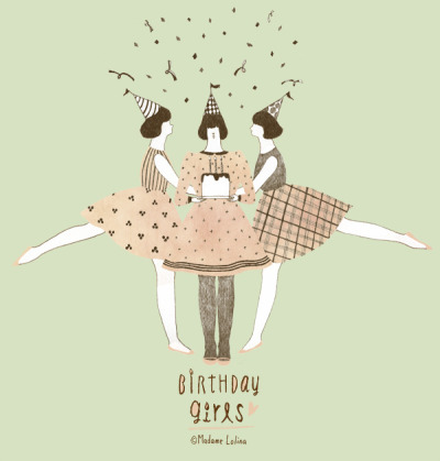 birthdaygirl by Madame Lolina on Flickr.