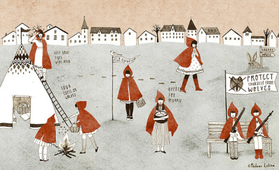 red riding hood by Madame Lolina on Flickr.