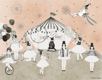 circus night by Madame Lolina on Flickr.