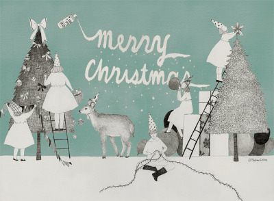Merry Christmas by Madame Lolina on Flickr.