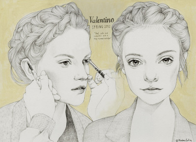 VALENTINO 2012 beauty by Madame Lolina on Flickr.