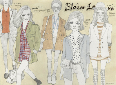 blazer love by Madame Lolina on Flickr.
