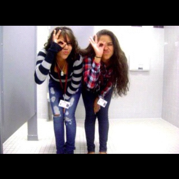 #throwbackthursday #freshmanyear @orianaalopez  (Taken with instagram)