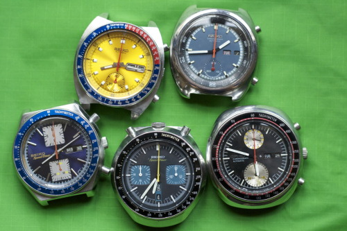 Everything you ever wanted to know about vintage Seiko chronographs, today on HODINKEE.