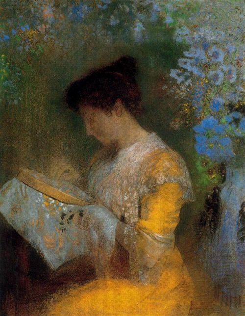 "Madame Arthur Fontaine by Odilon Redon, 1901, pastel on paper,  72.4 x 57.2 cm, Metropolitan Museum of Art, New York windypoplarsroom:  Odilon Redon ""Madame Arthur Fontaine"""