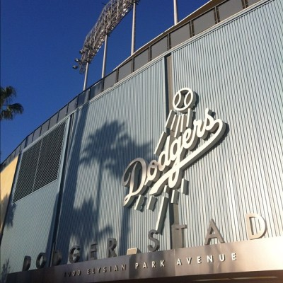 Brooklyn Dodgers. (Taken with Instagram at Dodger Stadium)