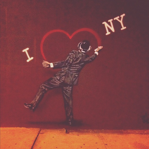 I ❤ #ny , #graffiti (Taken with instagram)