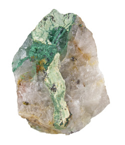 mineralia:  Beyerite with Malachite from Australia by The Arkenstone