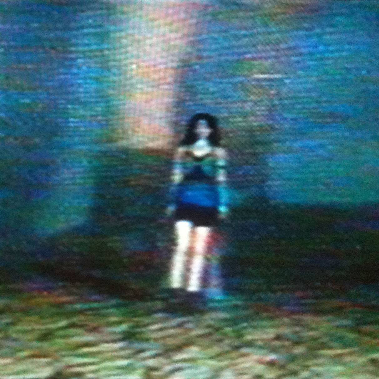 Rinoa Heartilly at the end of Final Fantasy VIII (caught on VHS).