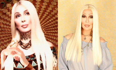 newnownext:  Cher loves Chad Chad loves Cher It's a mutual love and likeness affair!