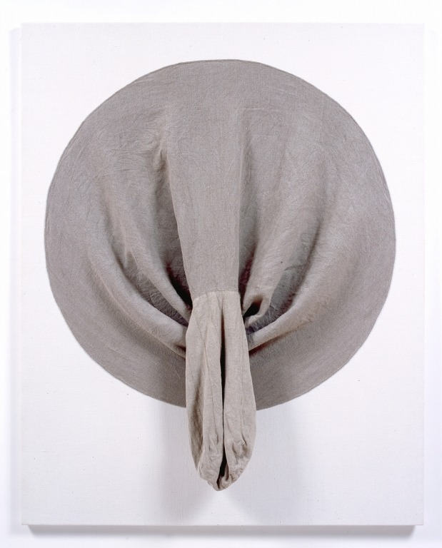 julianminima:  Daniel Sinsel Untitled, 2008  linen 125.5 x 100.3 x 2.5 cm