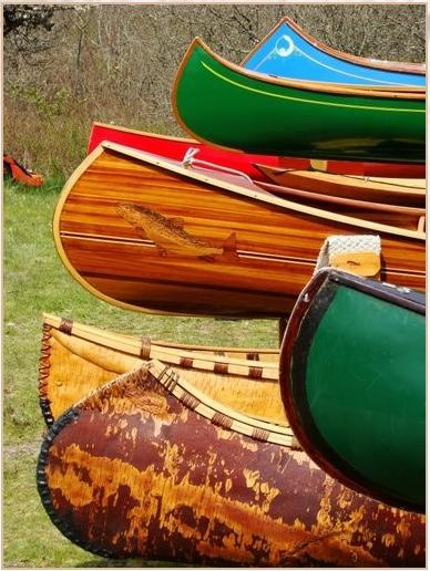 tommyhilfiger:  Canoes ready for action, by Mike Livdahl.