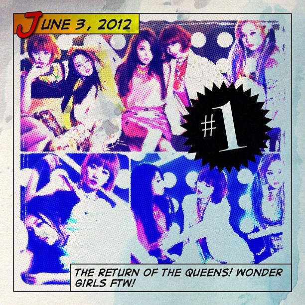 Mark your calendars my fellow #wonderfuls for #Wondergirls return!! #likethis will be awesome along with the rest of their #wonderparty album!! #WG FTW!! 💗❤💓 #kpop (Taken with instagram)