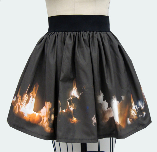 laughingsquid:  Space Shuttle Launch Skirt  WANT.