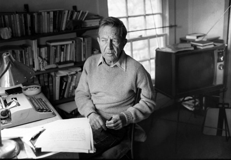 newyorker:  Had he lived, John Cheever would have turned a hundred this week. Brad Leithauser posts on our Page-Turner blog in remembrance of his style, and his mastery of the art of the devastating phrase: http://nyr.kr/KLQnx4  Without knowing of any this, I just happened to read Bullet Park this week. An odd book but I liked it.